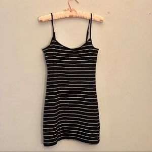🆕 H&M Striped Bodycon Mini Dress